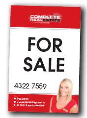 For sale signage - 1 version